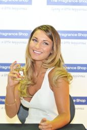 Sam Faiers - Promotes Her New Fragrance