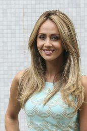 Samia Ghadie - ITV Studios in London - August 2014