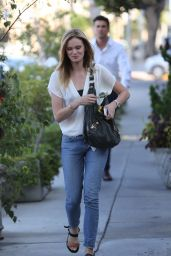Sara Paxton - Leaving Ken Paves Salon in West Hollywood - August 2014