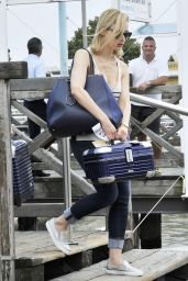 Sarah Gadon - Arriving in Venice the day before the Venice International Film Festival 2014