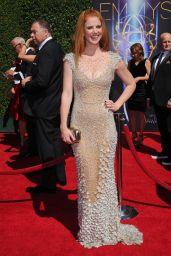 Sarah Rafferty - 2014 Creative Arts Emmy Awards