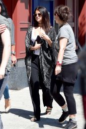 Selena Gomez Street Style – Out in West Hollywood, August 2014