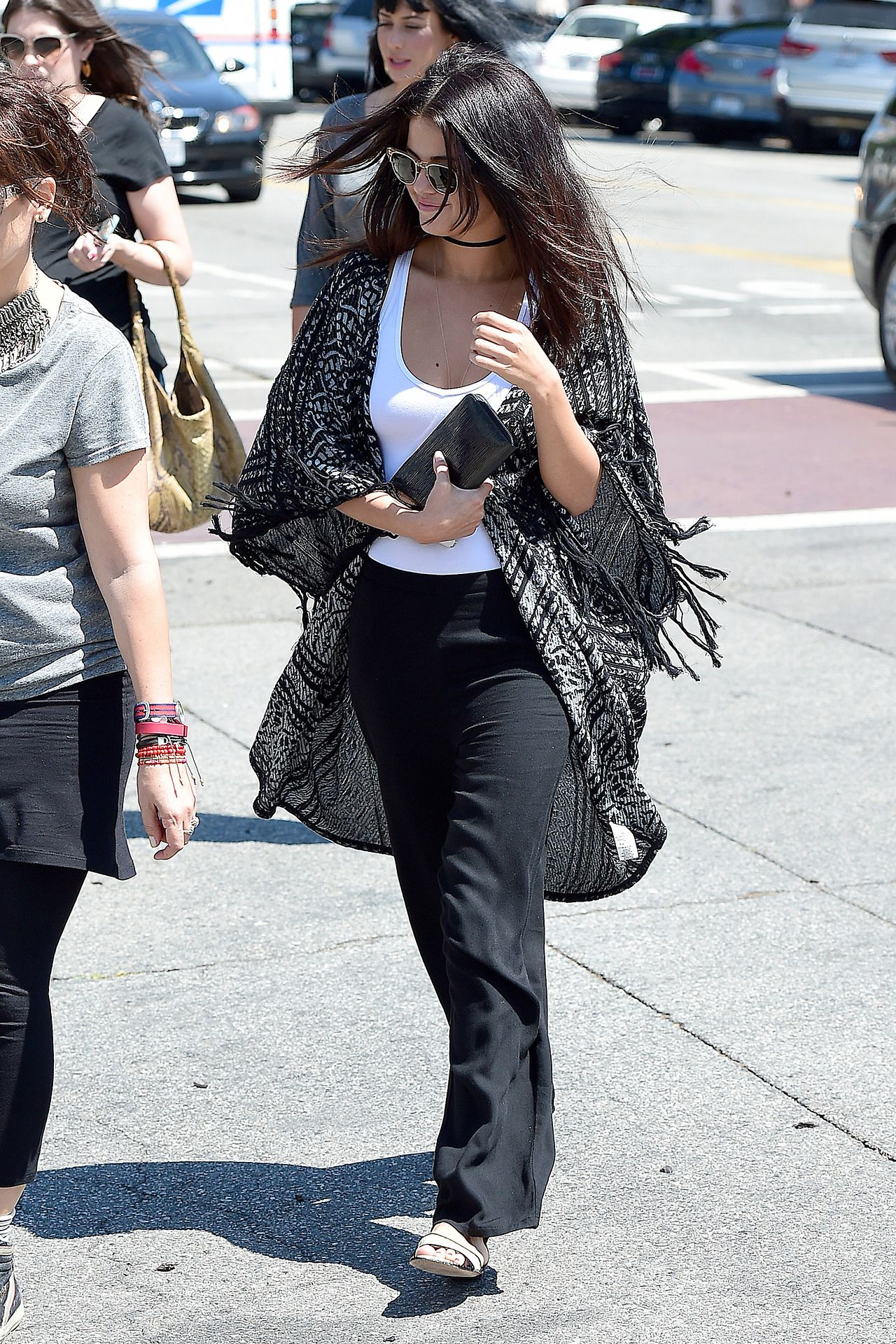 selena gomez street style – out in west hollywood august 2014