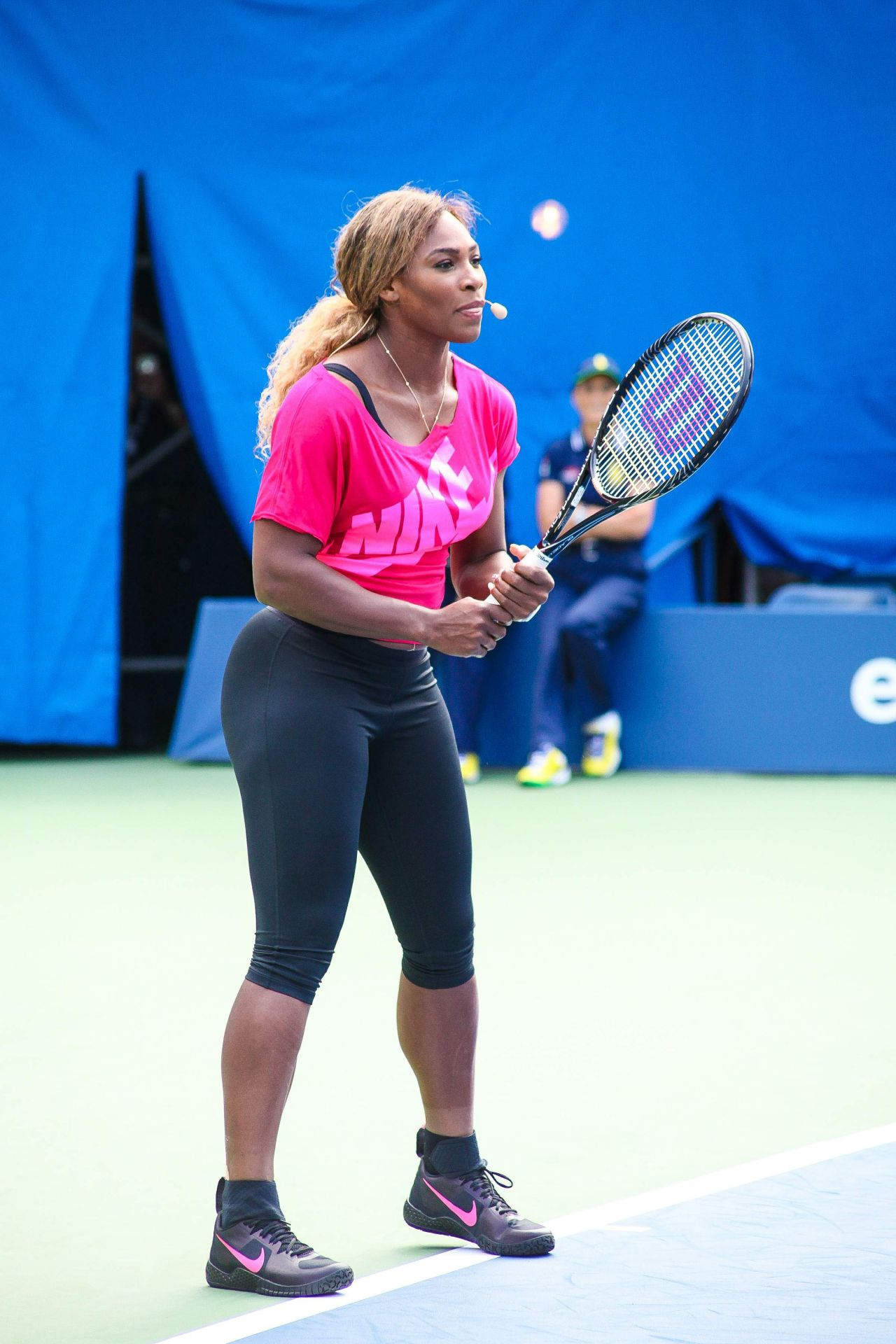 Serena Williams at 2014 Arthur Ashe Kids Day in Flushing
