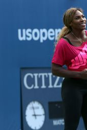 Serena Williams at 2014 Arthur Ashe Kids