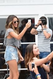 Shay Mitchell Attends Lucy Hale