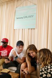 Sophia Bush - Samsung Galaxy Artist Lounge at Lollapalooza in Chicago - August 2014