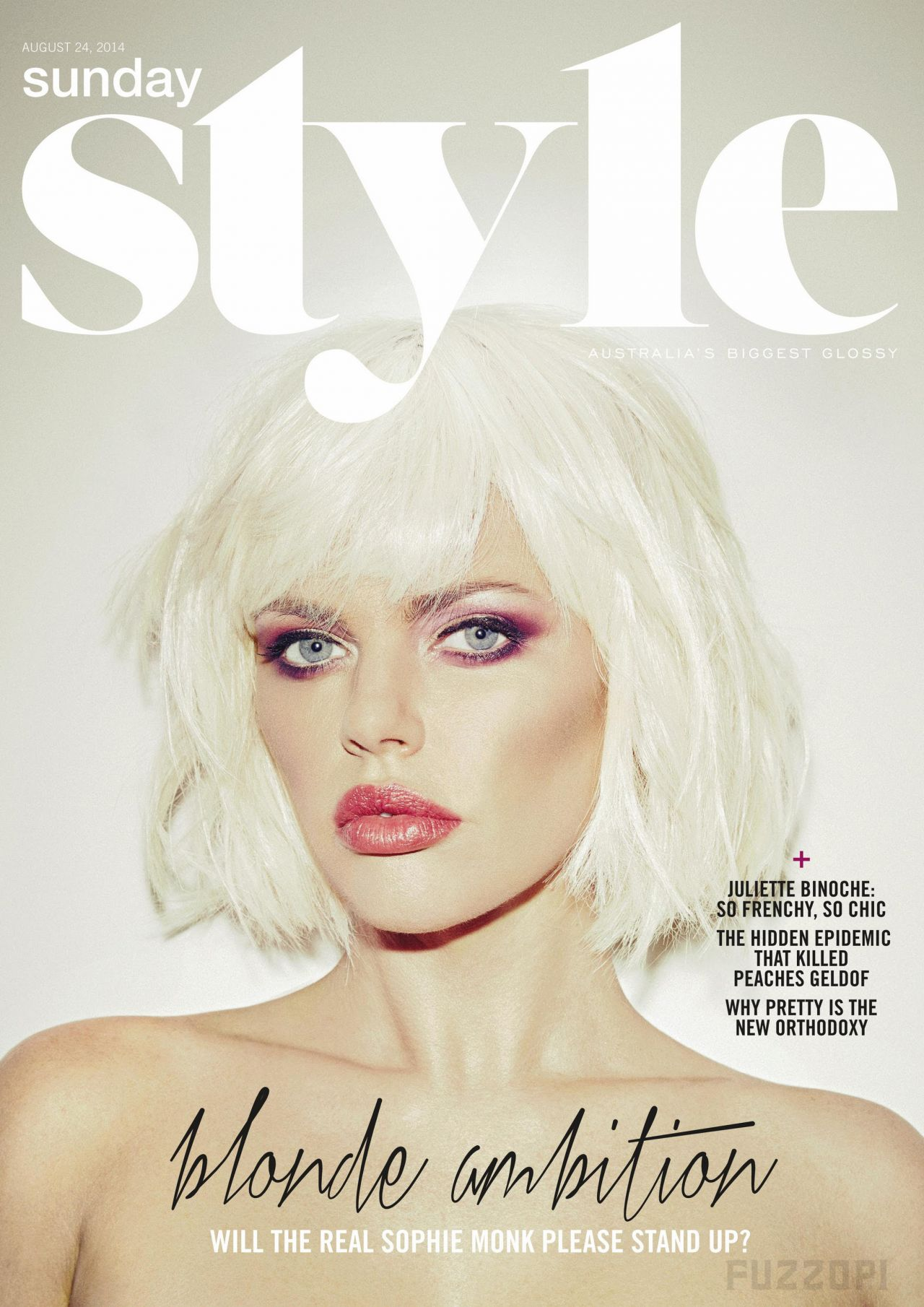 Sophie Monk - Sunday Style Magazine (UK) - August 24, 2014