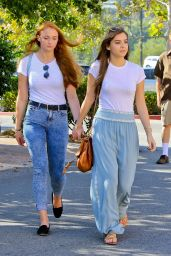 Sophie Turner and Hailee Steinfeld - Out in Malibu - August 2014