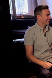 Sophie Turner Leggy - PopSugar Interview - Captures 2014
