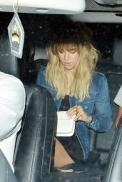 Suki Waterhouse Leaving the Chiltern Firehouse in London - August 2014