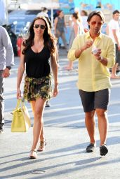 Tamara Ecclestone Shopping in Saint-Tropez - July 2014