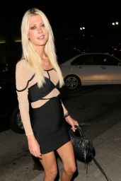Tara Reid Night Out Style - at Craig