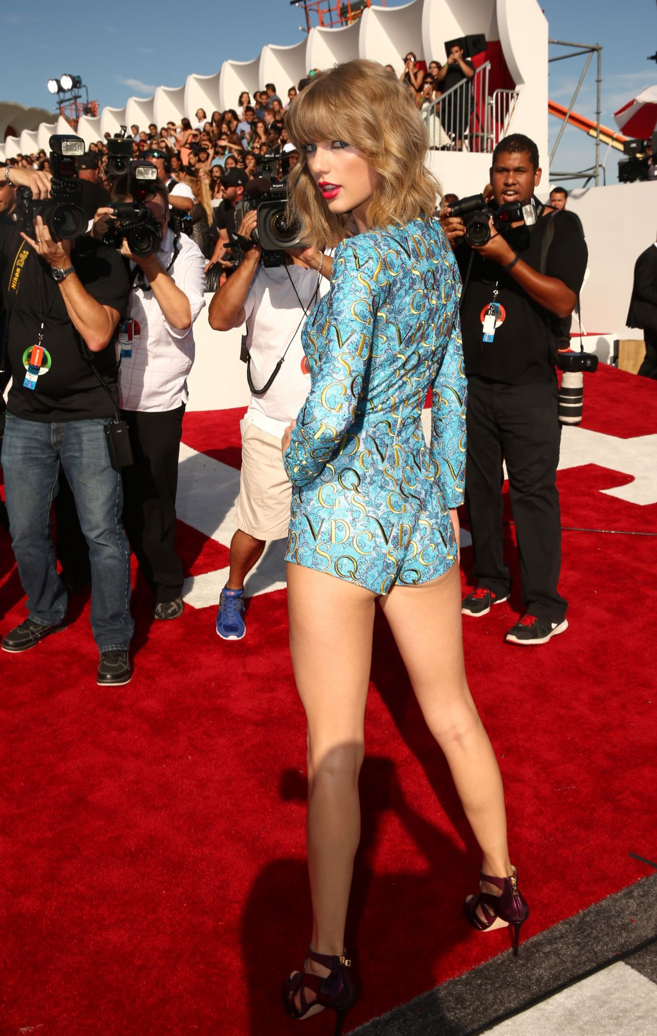 Taylor Swift - 2014 Mtv Video Music Awards In Inglewood-7536
