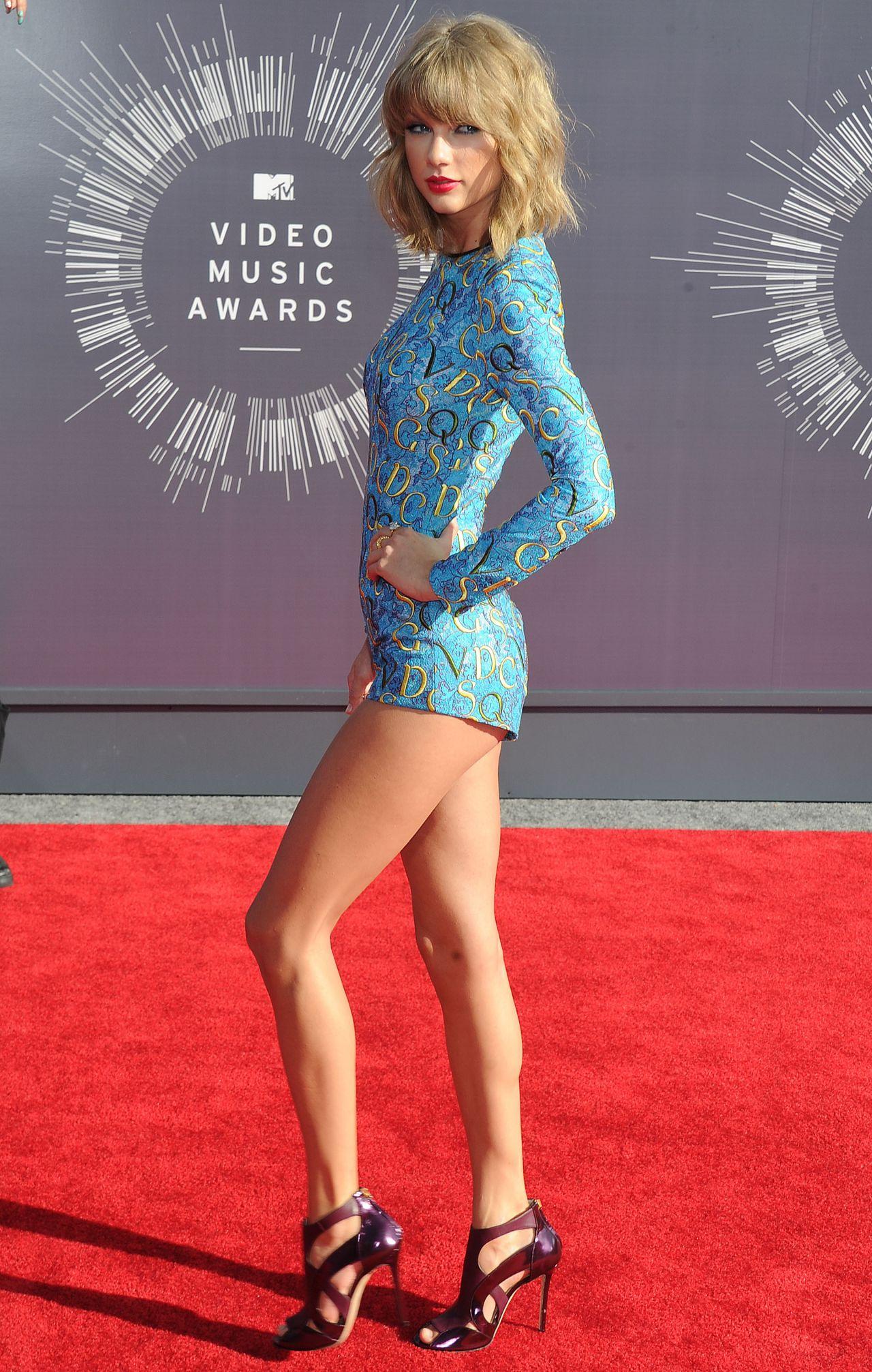 Taylor Swift - 2014 Mtv Video Music Awards In Inglewood-8512