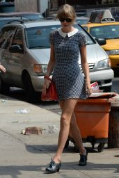 Taylor Swift - Leggy - Out in New York City - August 2014