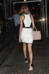 Taylor Swift Night Out Style - Out in New York City - August 2014