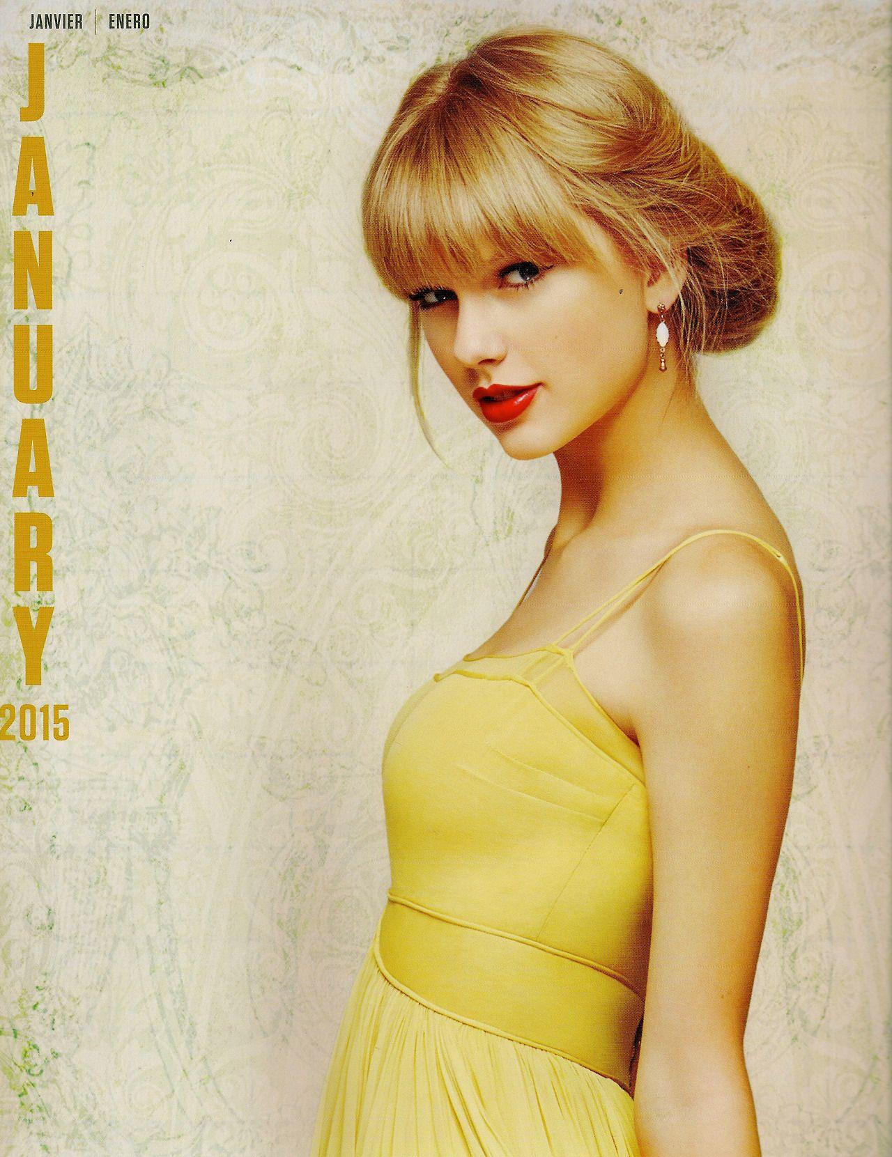 Taylor Swift 2012 Calendar Taylor Swift 2015 Calendar