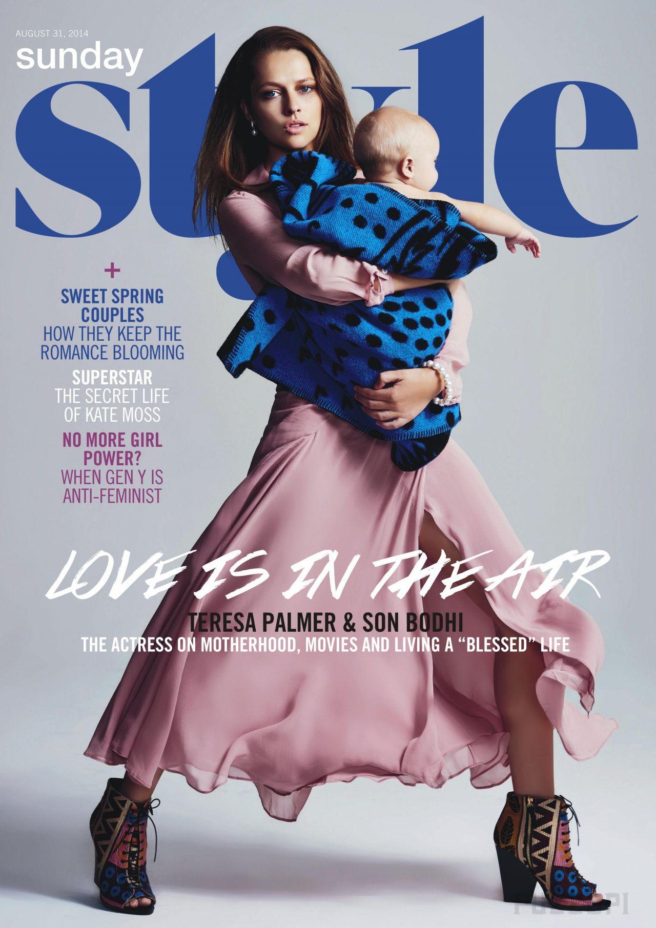 Teresa Palmer - Sunday Style Magazine (UK) - August 31st, 2014
