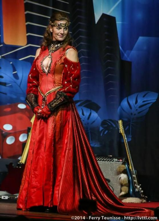 Terry Farrell Star Trek Convention In Las Vegas August