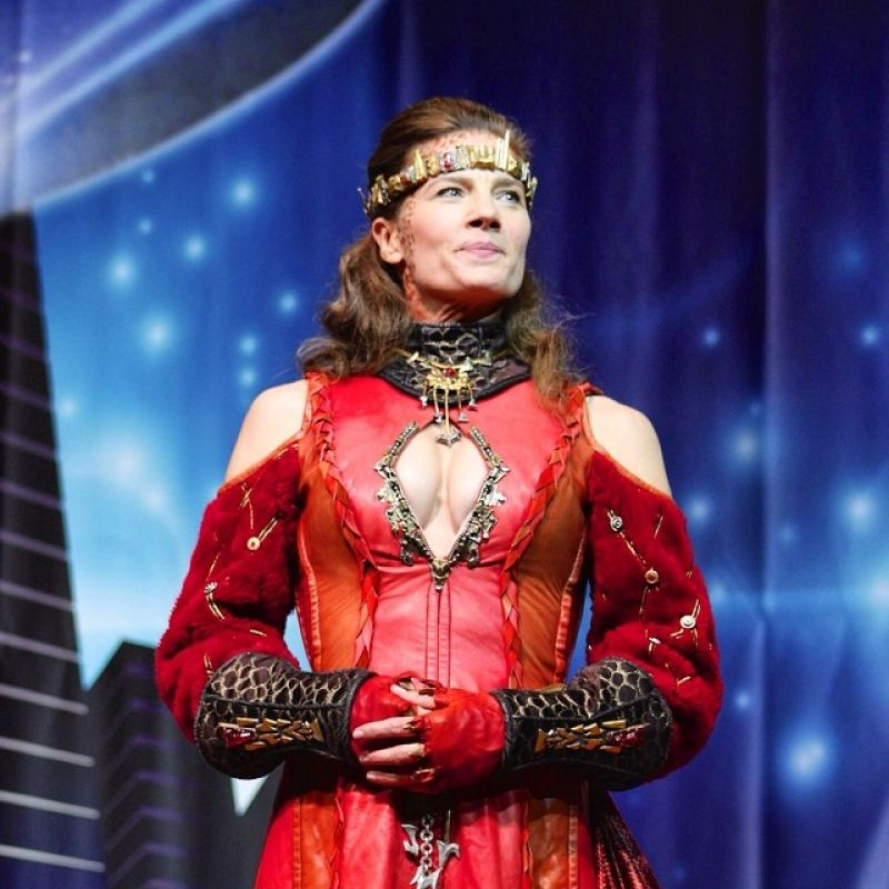 Terry Farrell – Star Trek Convention in Las Vegas – August 2014