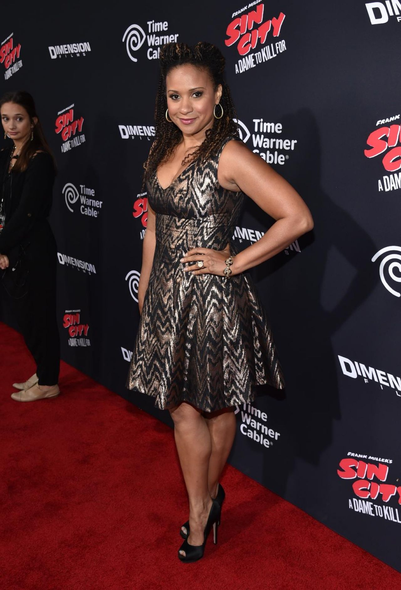 Tracie Thoms – 'Sin City A Dame To Kill For' Premiere in Los Angeles