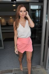 Una Foden – The Saturdays BBC Media City Hotel in Manchester