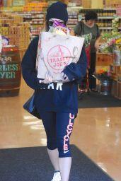Vanessa Hudgens Grocery Shopping at Trader Joe