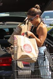 Vanessa Hudgens Street Style - at Whole Foods in Studio City - August 2014
