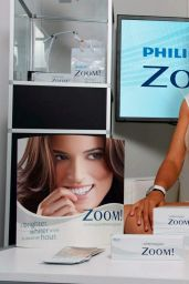 Victoria Azarenka in White Dress - Photoshoot for Philips ZOOM!