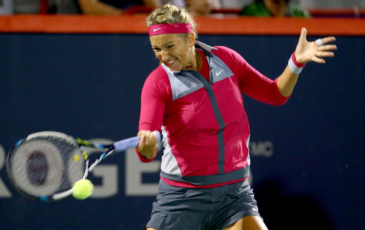 Victoria Azarenka – Rogers Cup 2014 in Montreal, Canada – 1st Round