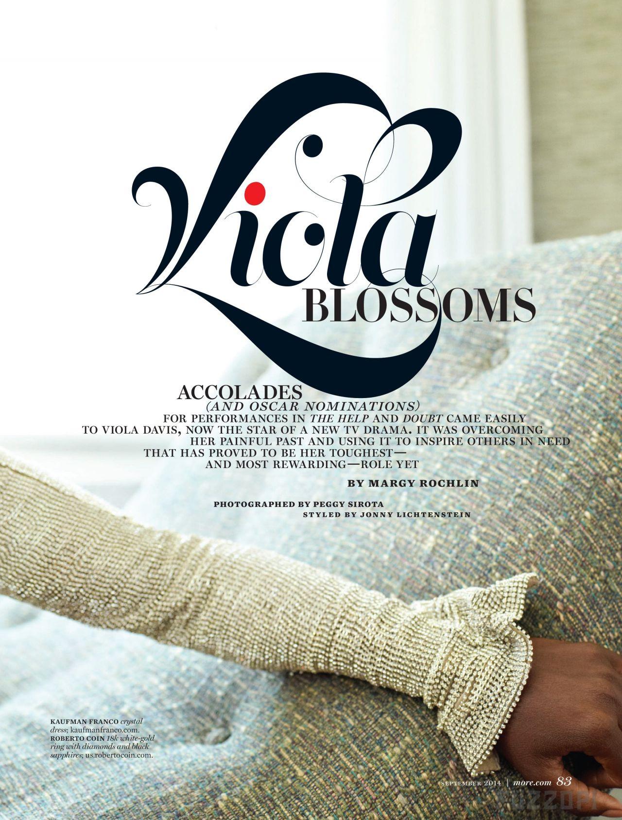 More Magazine November 2014 Issue: September 2014 Issue
