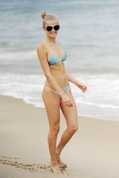 Vita Sidorkina In a Bikini on the Beach In Montauk, MQ - August 2014
