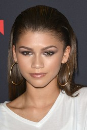 Zendaya Coleman at Trevor Jackson's Monster 18th Birthday Party in Los Angeles