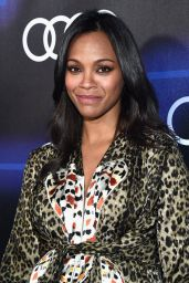 Zoe Saldana – Audi's Celebration of Emmys Week 2014 in Los Angeles