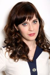 Zooey Deschanel - Portrait Photoshoot, Los Angeles 2014
