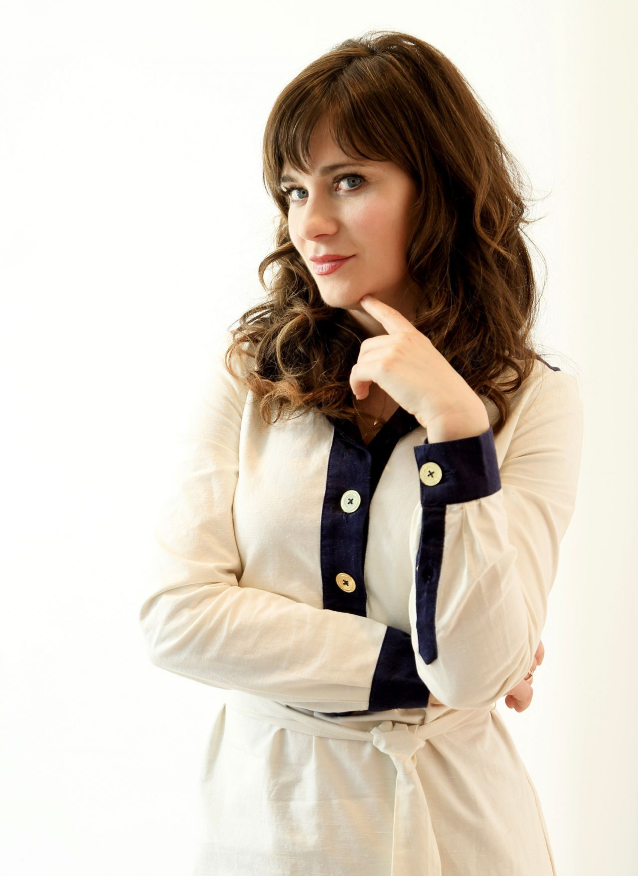 Zooey Deschanel Portrait Photoshoot Los Angeles 2014