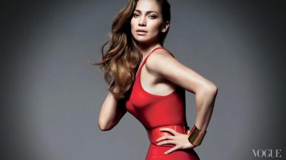 Jennifer Lopez - Vogue Magazine BTS - Hot Caps From Shape Issue