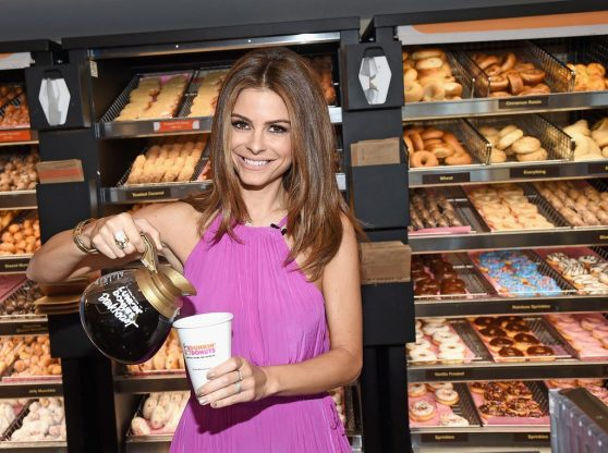 Maria Menounos - Dunkin' Donuts Dark Roast Ceremonial First Pour in Santa Monica