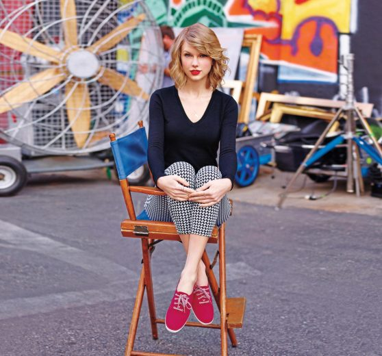 Taylor Swift - Photoshoot for Keds Fall 2014 Collection