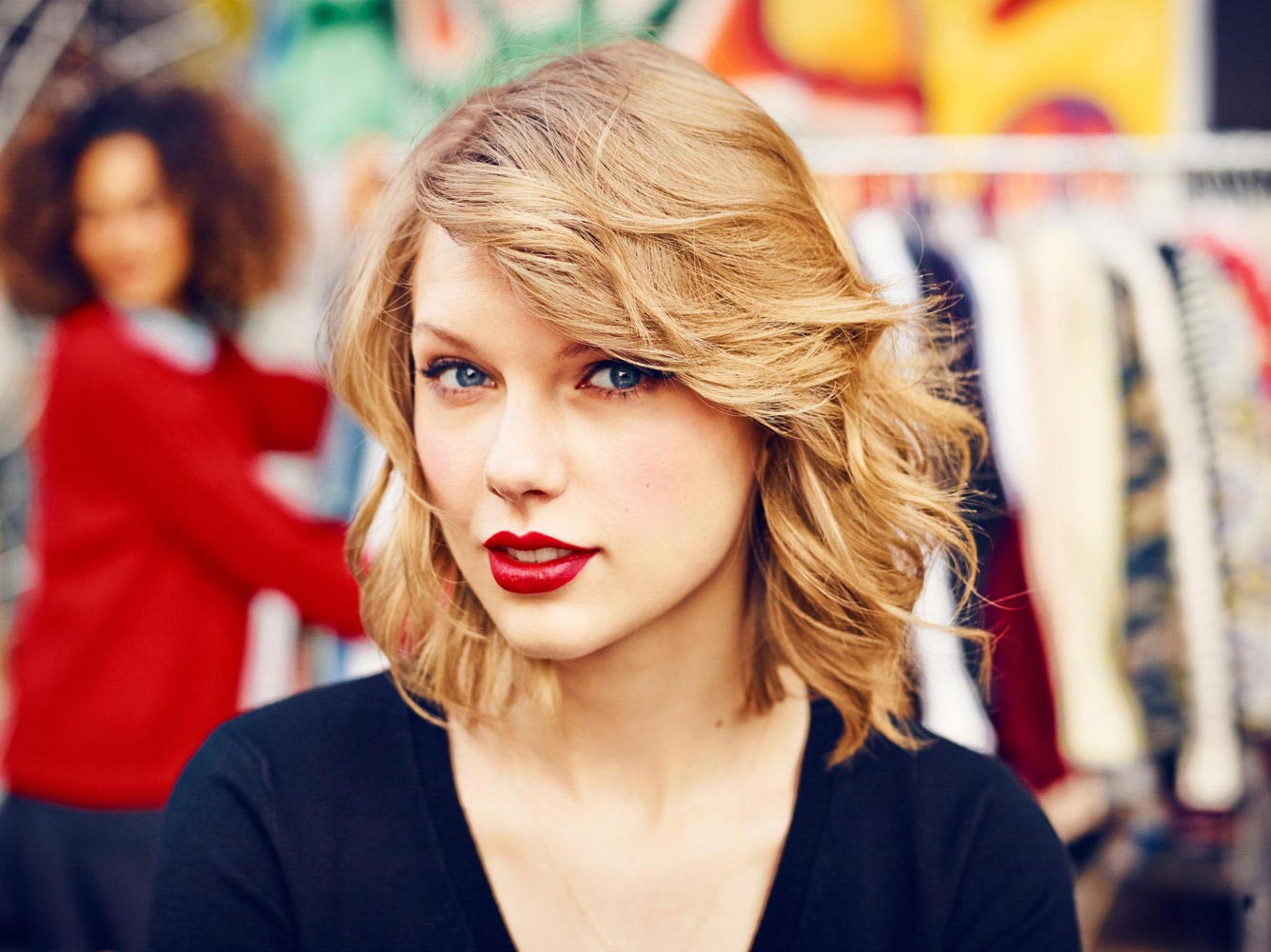 Taylor Swift Photoshoot For Keds Fall 2014 Collection