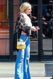 Abigail Breslin Outside The Bowery Hotel in New York City