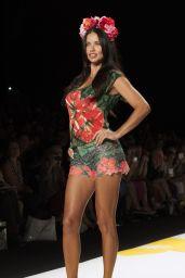 Adriana Lima – Desigual Fashion Show – Mercedes-Benz Fashion Week Spring 2015