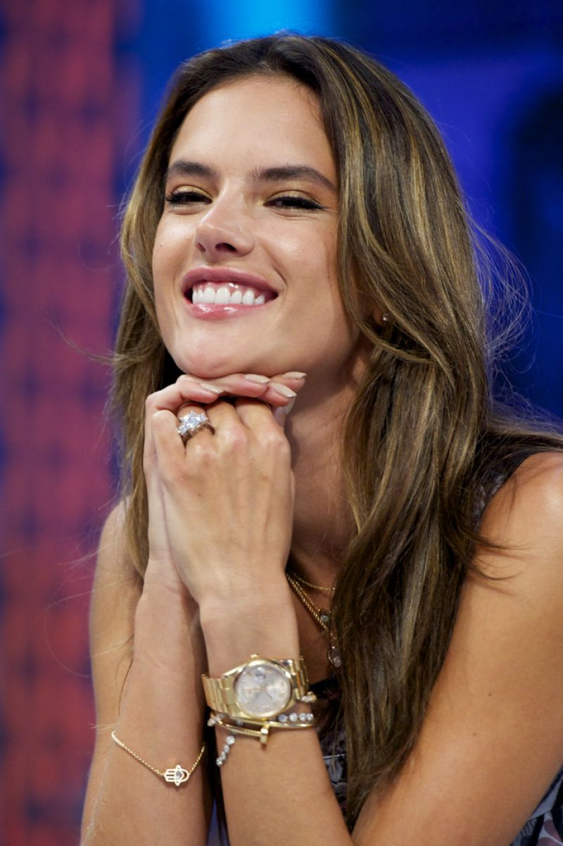 Alessandra Ambrosio Appeared on 'El Hormiguero' TV show in ... Alessandra Ambrosio