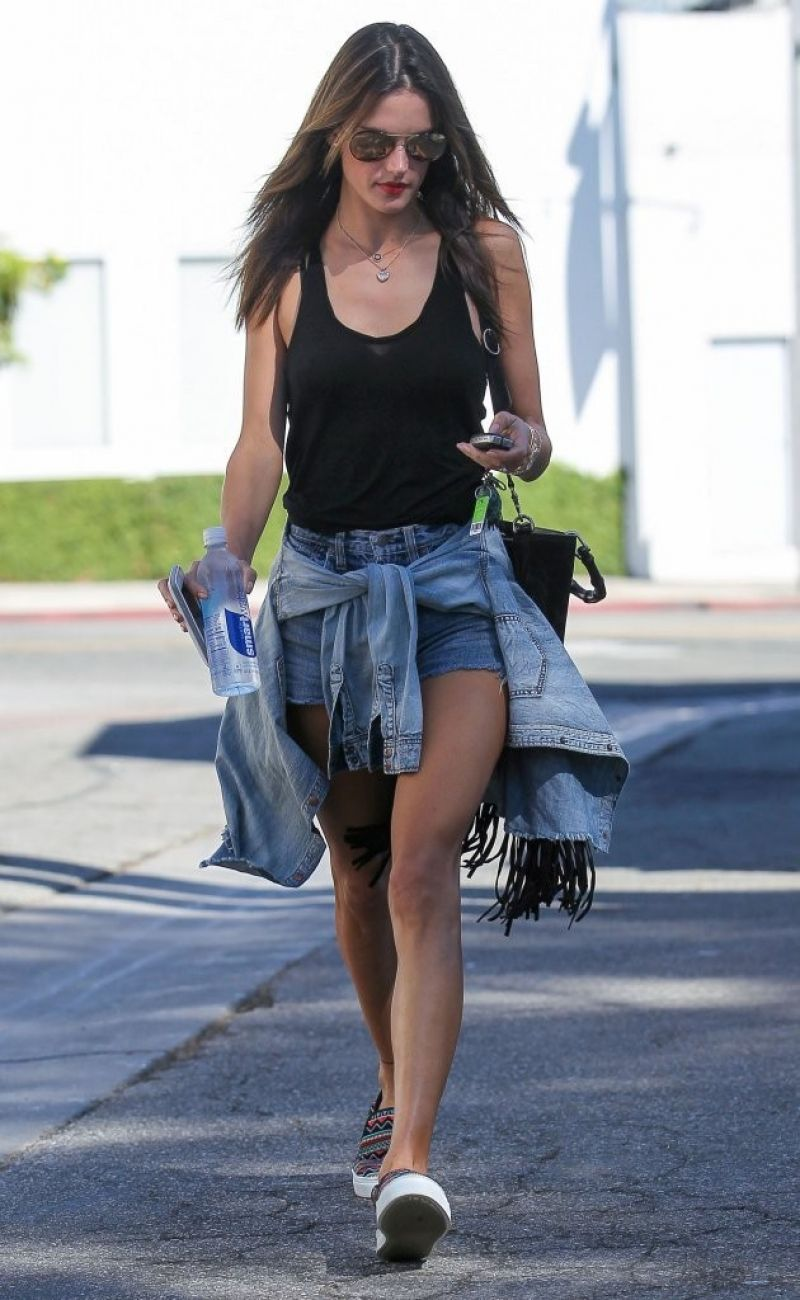 Alessandra Ambrosio - Out in West Hollywood - September 2014