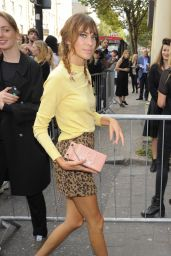 Alexa Chung – Topshop Unique Show – London Fashion Week Spring/Summer 2015