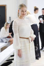 Alice Eve - Alice Temperley Show - London Fashion Week - September 2014