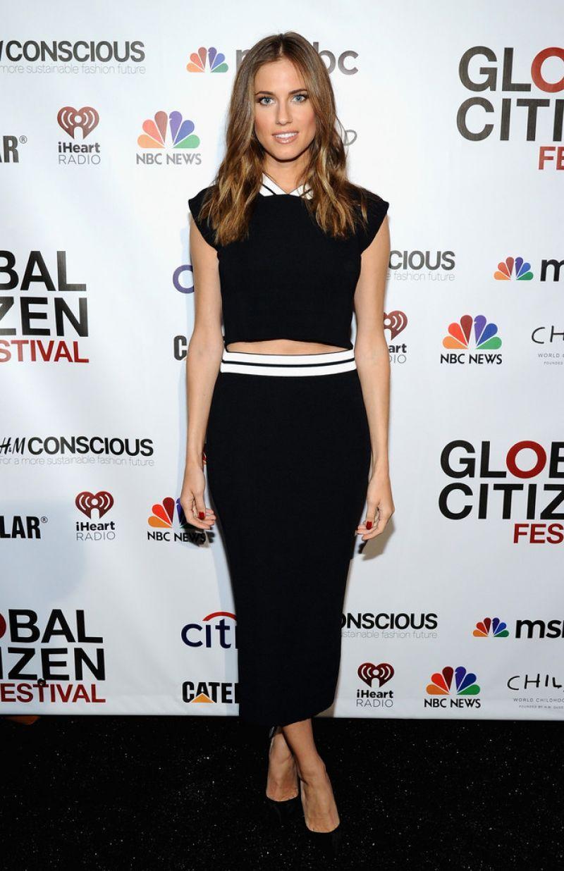 Allison Williams - 2014 Global Citizen Festival In Central Park