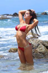 Amanda Cerny Bikini Photoshoot - on the Set of a Music Video in Aruba