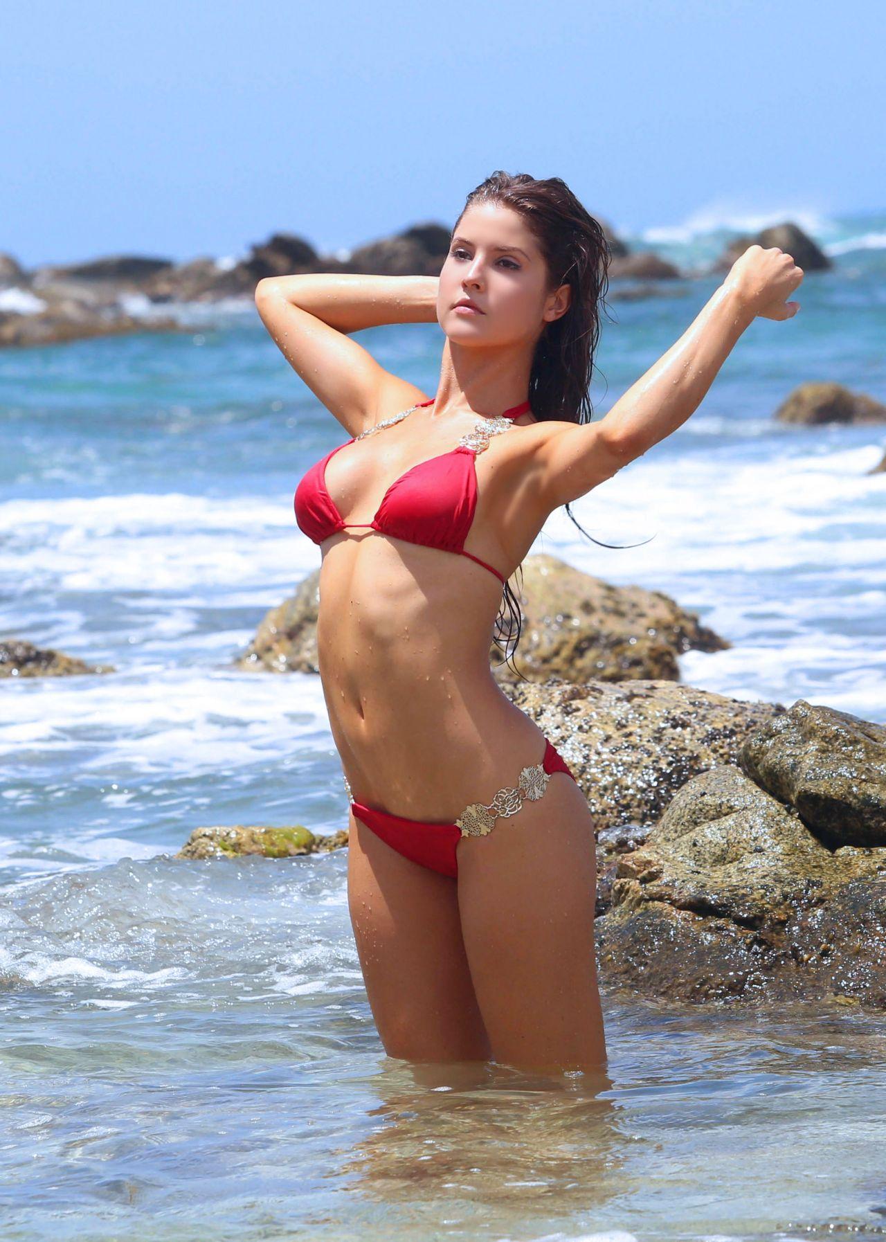 Amanda Cerny Bikini Photoshoot - on the Set of a Music ...